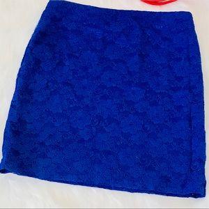 Forever 21 skirts royal blue
